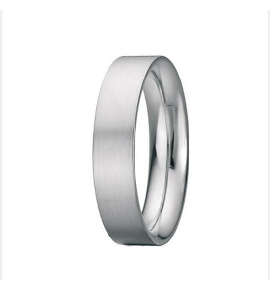 Flat shank Wedding ring