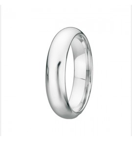 Round shank Wedding ring