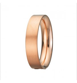 Flat shank Wedding ring