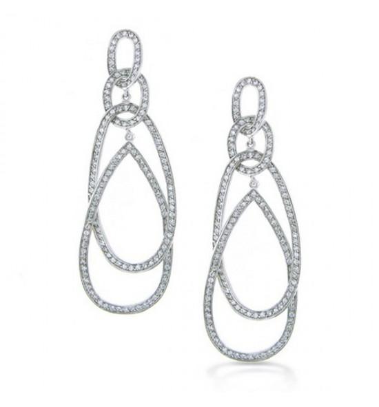 Hoop Diamonds Earrings