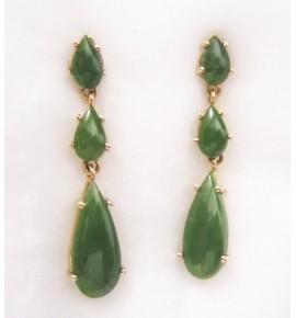 Pendientes Lagrimas de Jade