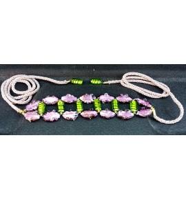 Cinturon Lilas y Limas de Murano