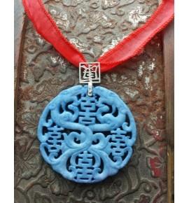 Colgante Jade Azul